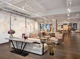 furniture showroom nyc avenue road showroom featured in elle decor