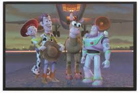 disney vintage collectable postcard toy story buzz woody jessie