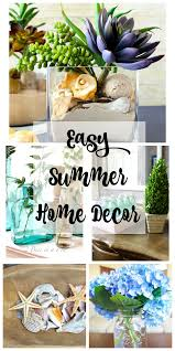 easy summer home decor 2 bees in a pod