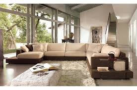 canape en tissus haut de gamme canapé d angle loft en tissu haut de gamme coloris beige et