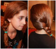 5 back to cute and easy hairstyles side braid simply real