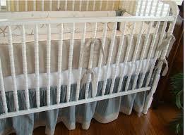 Seashell Crib Bedding Starfish Crib Bedding For A Themed Nursery Oh