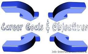 Sample Objectives For Resume by Career Goals Examples Of Career Goals And Objectives