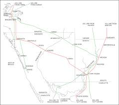 Florida Railroad Map by Tampa Bay Trains Boom Time Rail Branches In Manatee And Sarasota