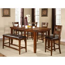 Countertop Dining Room Sets by Sierra Ridge Dining Counter Height Table U0026 4 Chairs 2700