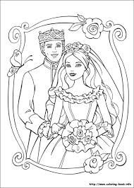 princess pauper coloring picture