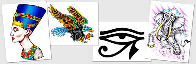 tattoo designs u0026 symbols eagle egyptian eye of horus elephant