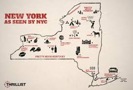 Utica New York Map by How Nyc Views Central New York And Other Parts Of The State