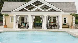 interior designs for small house guest pool house cabana plans
