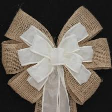 Wedding Pew Bows Burlap Wedding Bows Package Perfect Bows