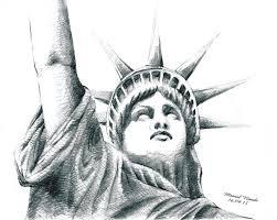 i done in pencil sketch statue of liberty mrinal nandi pulse