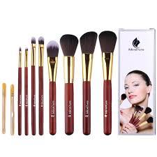 amazon com miropure 8 piece kabuki makeup brush set with ear
