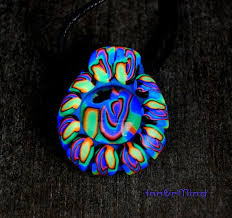 black light necklace images 158 best uv blacklight fluo fimo fluorescent clay art jewelry jpg