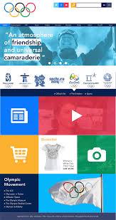olympics homepage redesign u2013 bronte poynts graphic design