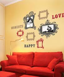 vintage photo frames deluxe wall decal