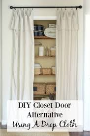 How To Cover A Window by Best 25 Closet Door Curtains Ideas On Pinterest Closet Door