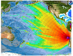 Portland Earthquake Map by A Numerical Simulation Of What A Tsunami