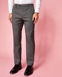 italian wool trousers grey suits ted baker uk