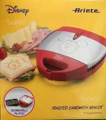 ariete tostapane tostapane ariete topolino mickey mouse elettrodomestici in