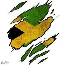Jamaican Flag Shirt Score Ripped Jamaica Flag By Zarkop On Threadless