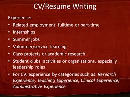 Resume Writing Class Curriculum Vitae Resume Writing Ppt Video Online Download