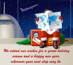 happy holidays air ambulance card