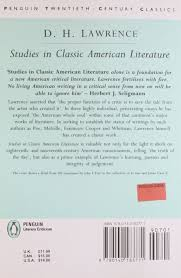 amazon com studies in classic american literature classic 20th