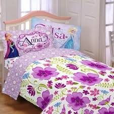 Disney Princess Twin Comforter Disney Frozen Princess Anna U0026 Elsa Twin Comforter U0026 Sheet Set 4