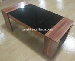 Living Room Center by Cheap Living Room Center Table Design Wooden Tea Table With Glass