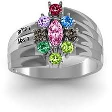 grandmother s ring a s embrace personalized birthstone ring 129 00 i really