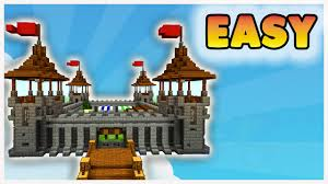 minecraft how to build a small castle medieval minecraft castle