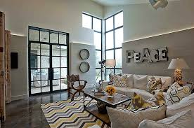 chevron rug living room yellow and gray chevron rug contemporary living room