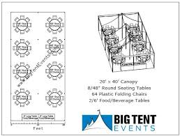 tent rental cost party tents package pricing 20x40 tent big tent events