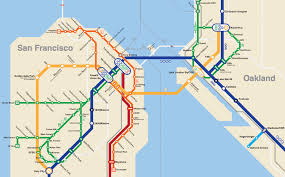 San Francisco Neighborhood Map by San Francisco Metro Map Michigan Map