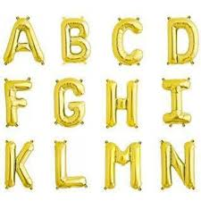 gold letter balloons letters number balloons shop sweet lulu