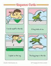sequence cards teachervision