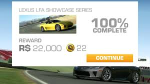 lexus from dubai real racing 3 gameplay lexus lfa cup dubai autodrome youtube