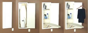 wall mount ironing board cabinet white in wall ironing board ironing board cabinet wall mounted ironing