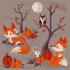 Cute Fall Wallpaper by Artagainstsociety U201c Adorable Illustrations By Caley Hicks The