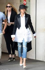zendaya shows off edgy look in london daily mail online