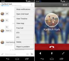 call for android messenger for android and iphone gets free voice calling