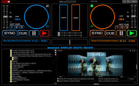 virtual dj software scxs skin