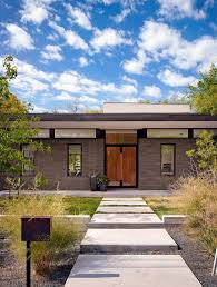 Clearstory Windows Plans Decor Double Front Doors Exterior Modern With Bushes Clerestory Windows