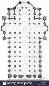 milan cathedral floor plan milan cathedral plan stock photo 68701465 alamy