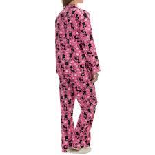 kayanna printed flannel pajama set for save 66