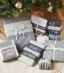 makers guide chalkboard paper wrapped gifts joann
