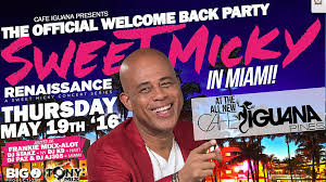 haiti u0027s president michel u0027sweet micky u0027 martelly perform