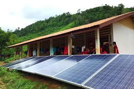 Solar Energy Lighting - lighting up rural lives with solar energy news eco business