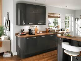 cuisine noir et rouge davaus net u003d cuisine rouge et bois avec des idées intéressantes