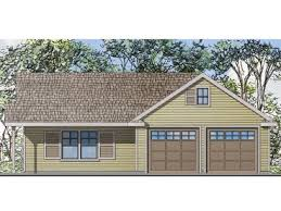 22x22 2 Car 2 Door Detached Garage Plans by Carriage House Plans The House Plan Shop